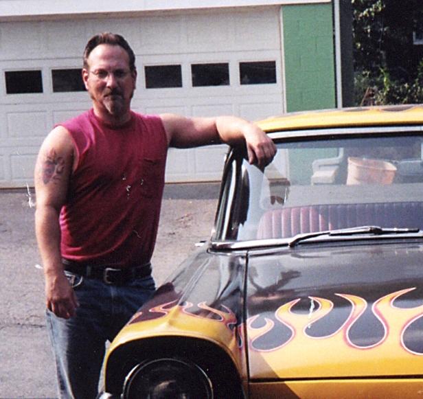 Dean and the '57 Ranchero.