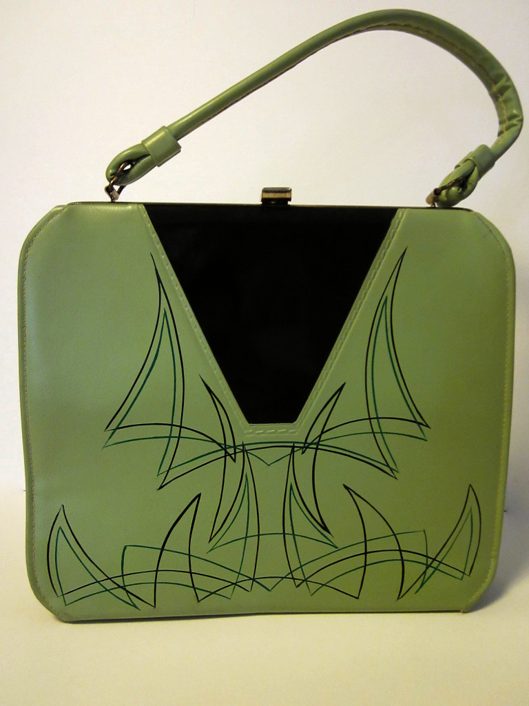 pinstriped, vintage purse, rockabilly clothing, pin up clothing, retro accessories, vintage accessories, kustom kulture