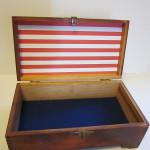 grease and grace, keepsake box, vintage, kustom, review, retro, navy, military, custom art