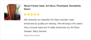 art deco pin striped vase grease and grace reviews