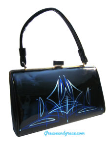 rockabilly, vintage, purse, fashion, style, burlesque, retro, 60s, vinyl, 50s, fifties, 1960s, 1950s, handbag, purses, pocketbook, pinstripe, pin striped, pin-stripe, pin-striper,hollywood, emmys, television academy, red carpet, grease and grace, gallery, art for sale, artist, art online, art sites, handbags, leather handbags, bakelite handbags, acrylic handbags, purse, leather bags, leather purses, patent leather purses, vintage handbag, ladies handbag, handbags on sale, vintage purses, designer purses, vintage style handbags, vintage handbags for sale, vintage looking handbags, handbag vintage, vintage clutch, evening clutches, patent leather clutch, large clutch bags, vintage purses, vintage box purse, vintage purses online, vintage bags and purses, vintage purses and handbags, retro handbags, retro bags, retro purses, retro leather bags, retro wallet, black bag, women's black bag, bags for sale, bags on sale, unique purses, unique leather purses, unique purses for sale, navy clutch bag, white clutch, handbags online, handbags etsy, red clutch, evening purse, evening clutch purse, black evening purse, 1950s purse, 1950s handbag, 1960s purse, 1960s handbag, 1940s purse, 1940s handbag