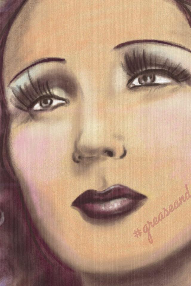 Edith Piaf art print