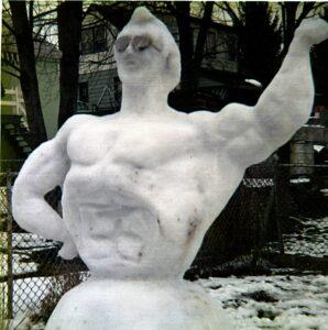 greaser snowman